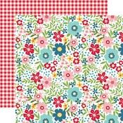 Summer Floral Paper - A Slice Of Summer - Echo Park