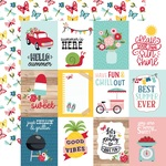 Journaling Cards 3x4 Paper - A Slice Of Summer - Echo Park - PRE ORDER