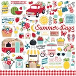 A Slice Of Summer Element Sticker Sheet - Echo Park - PRE ORDER