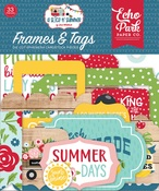 A Slice Of Summer Frames & Tags - Echo Park
