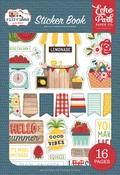 A Slice Of Summer Sticker Book - Echo Park