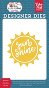 Summer Sunshine Die Set - Echo Park