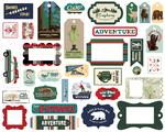 Outdoor Adventures Frames & Tags - Carta Bella