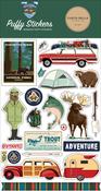 Outdoor Adventures Puffy Stickers - Carta Bella