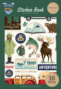 Outdoor Adventures Sticker Book - Carta Bella