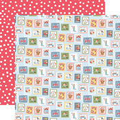 Summer Stamps Paper - Summer - Carta Bella