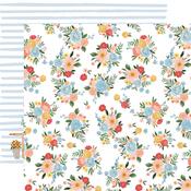 Floral Bunches Paper - Summer - Carta Bella