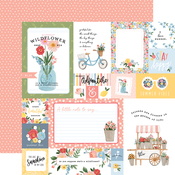 Multi Journaling Cards Paper - Summer - Carta Bella