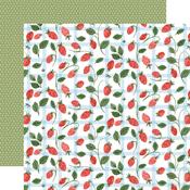 Summer Strawberries Paper - Summer - Carta Bella