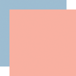 Pink/Blue Coordinating Solid Paper - Summer - Carta Bella