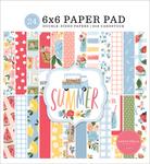 Summer 6x6 Paper Pad - Carta Bella - PRE ORDER
