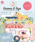 Summer Frames & Tags - Carta Bella - PRE ORDER