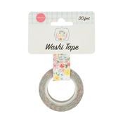 Sweetest Floral Washi Tape - Summer - Carta Bella - PRE ORDER