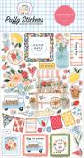 Summer Puffy Stickers - Carta Bella - PRE ORDER