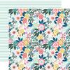 Paradise Floral Paper - Pool Party - Echo Park