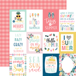 3X4 Journaling Cards Paper - Pool Party - Echo Park - PRE ORDER