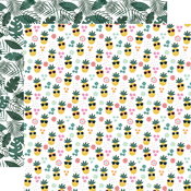 Pineapple Paradise Paper - Pool Party - Echo Park