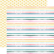 Summer Stripes Paper - Pool Party - Echo Park