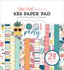 Pool Party 6x6 Paper Pad - Echo Park
