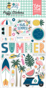Pool Party Puffy Stickers - Echo Park - PRE ORDER