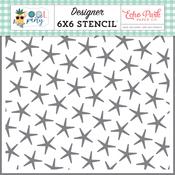 Summer Starfish Stencil - Pool Party - Echo Park - PRE ORDER