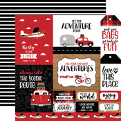 Multi Journaling Cards Paper - Let's Go Anywhere - Echo Park