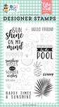 Sunshine Kisses Stamp Set - Pool Party - Echo Park