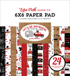 Let's Go Anywhere 6x6 Paper Pad - Echo Park