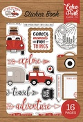 Let's Go Anywhere Sticker Book - Echo Park