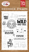 Road Trip Stamp Set - Let's Go Anywhere - Echo Park