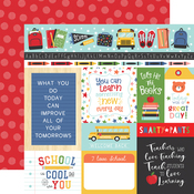Multi Journaling Cards Paper - I Love School - Echo Park