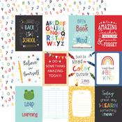 3X4 Journaling Cards Paper - I Love School - Echo Park