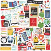 I Love School Element Sticker - Echo Park