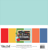 I Love School Solids Kit - Echo Park