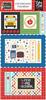 I Love School 6x13 Chipboard Frames - Echo Park