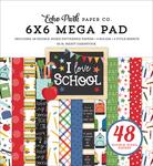 I Love School Cardmakers 6x6 Mega Pad - Echo Park