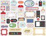 I Love School Frames & Tags - Echo Park