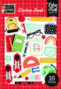 I Love School Sticker Book - Echo Park