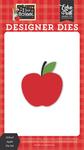 School Apple Die Set - I Love School - Echo Park