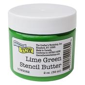 Lime Green Stencil Butter - Crafter's Workshop