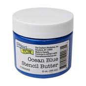 Ocean Blue Stencil Butter - Crafter's Workshop