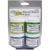 Carribean Sea Stencil Butter Pack - The Crafter's Workshop