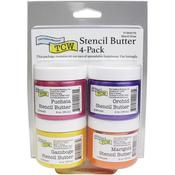 Mardi Gras Stencil Butter Pack - The Crafter's Workshop