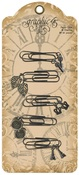 Metal Paper Clips & Charms - Graphic 45 - PRE ORDER