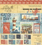 Catch of the Day 8x8 Pad - Graphic 45 - PRE ORDER
