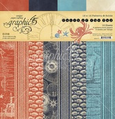 Catch of the Day 12x12 Patterns & Solids Pad - Graphic 45