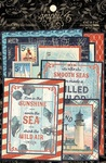Catch of the Day Journaling Cards - Graphic 45 - PRE ORDER