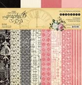 Elegance 12x12 Patterns & Solids Pad - Graphic 45