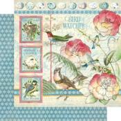 Bird Watcher Paper - Bird Watcher - Graphic 45