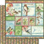 Look Up! Paper - Bird Watcher - Graphic 45